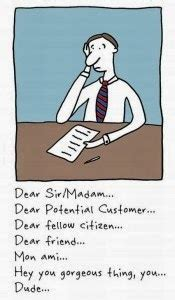 To whom it may concern in cover letter